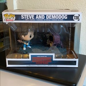 Steve & Demodog Funko POP
